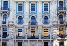 Architettura di Art Nouveau immagini stock libere da diritti