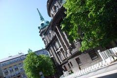 Architettura di Belgrado fotografie stock libere da diritti