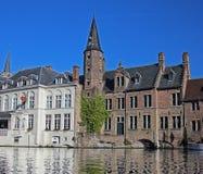 Architettura di Bruges fotografie stock libere da diritti