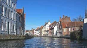 Architettura di Bruges fotografie stock