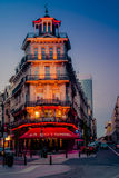 Architettura di Bruxelles - splendida e variopinta Fotografia Stock