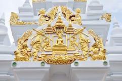Architettura di buddismo in Tailandia Immagini Stock Libere da Diritti