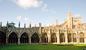 Architettura di Canterbury Fotografie Stock Libere da Diritti