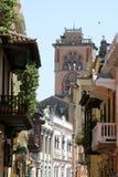 Architettura di Cartagine de Indias. La Colombia Immagini Stock Libere da Diritti
