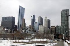 Architettura di Chicago Fotografie Stock
