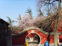 Architettura di cinese del  del ¼ dello statueï del segno del  del ¼ di Baodu Zhaiï di cinese Fotografie Stock