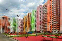 Architettura di colore Fotografie Stock