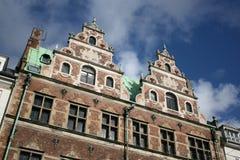 Architettura di Copenhaghen Immagini Stock Libere da Diritti