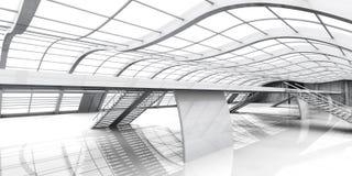 Architettura di corridoio Fotografia Stock Libera da Diritti