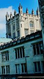 Architettura di estate di New York dell'università del castello immagine stock