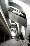 Architettura di età di spazio Immagini Stock Libere da Diritti