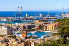 Architettura di Genova, Italia fotografie stock libere da diritti