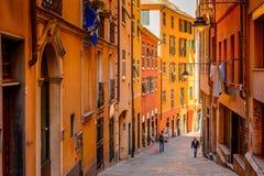 Architettura di Genova, Italia fotografia stock