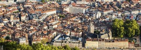 Architettura di Grenoble - vista aerea Fotografie Stock Libere da Diritti