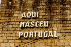 Architettura di Guimaraes, Portogallo fotografie stock