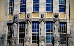 Architettura di Helsinki, Finlandia Fotografia Stock