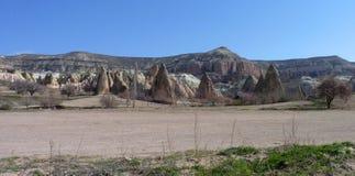 Architettura di Kapadokya Capadoccia Fotografie Stock Libere da Diritti