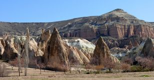 Architettura di Kapadokya Capadoccia fotografia stock libera da diritti