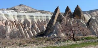 Architettura di Kapadokya Capadoccia immagini stock libere da diritti