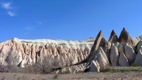 Architettura di Kapadokya Capadoccia fotografia stock