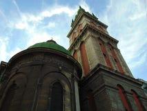 Architettura di Leopoli fotografia stock