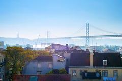 Architettura di Lisbona, Portogallo Fotografia Stock