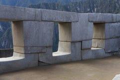 Architettura di Machu Picchu Immagini Stock Libere da Diritti