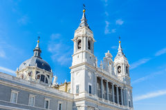 Architettura di Madrid, la capitale della Spagna Fotografie Stock Libere da Diritti