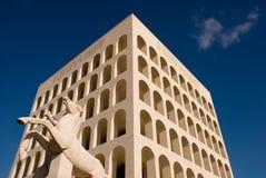 Architettura di metafisica a Roma Fotografia Stock Libera da Diritti