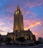 Architettura di Miami fotografie stock