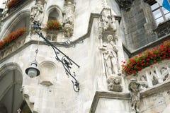 Architettura di Monaco di Baviera Fotografia Stock