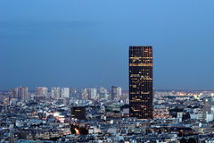 Architettura di Montparnasse di giro Immagine Stock
