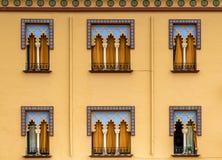 Architettura di moresco Fotografie Stock Libere da Diritti