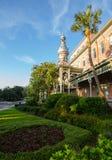Architettura di moresco dell'università di Tampa Fotografie Stock