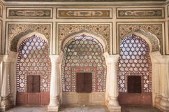 Architettura di Mughal Fotografia Stock Libera da Diritti
