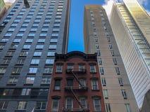 Architettura di New York City Fotografia Stock Libera da Diritti