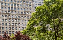 Architettura di New York City Immagini Stock Libere da Diritti
