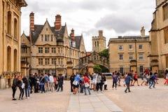 Architettura di Oxford, Inghilterra, Regno Unito Fotografia Stock