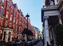 Architettura di periodo a Londra immagine stock libera da diritti