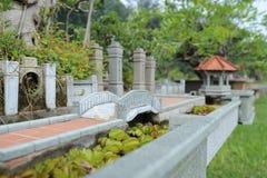 Architettura di piccola casa classica piacevole Fotografia Stock Libera da Diritti