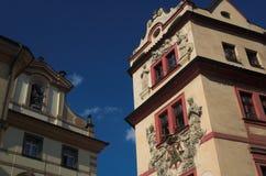 Architettura di Praga Immagini Stock Libere da Diritti
