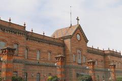 Architettura di Puebla IV Fotografie Stock