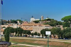 Architettura di Roma, Italia Fotografie Stock Libere da Diritti