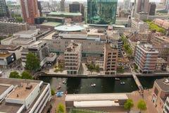Architettura di Rotterdam Immagini Stock