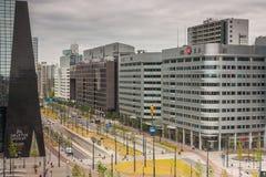 Architettura di Rotterdam Fotografie Stock Libere da Diritti