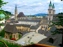 Architettura di Salisburgo Fotografie Stock
