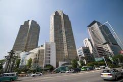 Architettura di Seoul Fotografia Stock Libera da Diritti