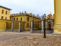 Architettura di St Petersburg Fotografie Stock Libere da Diritti
