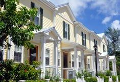 Architettura di stile del Key West Fotografie Stock
