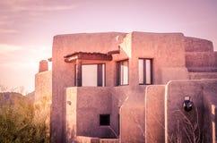 Architettura di stile di Adobe Fotografia Stock Libera da Diritti